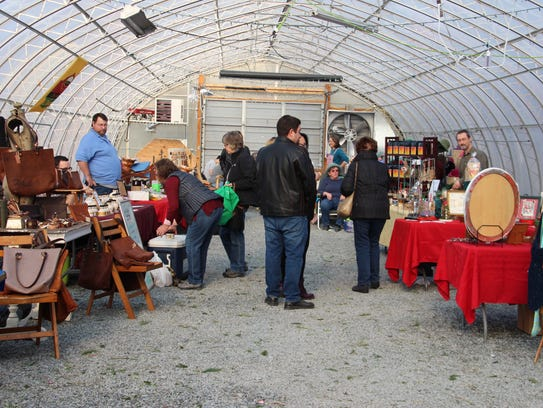 The Chamberlain Acres winter farmers market brings about 20 local food producers and artisans inside a 100-foot heated greenhouse each Sunday in Elmira.