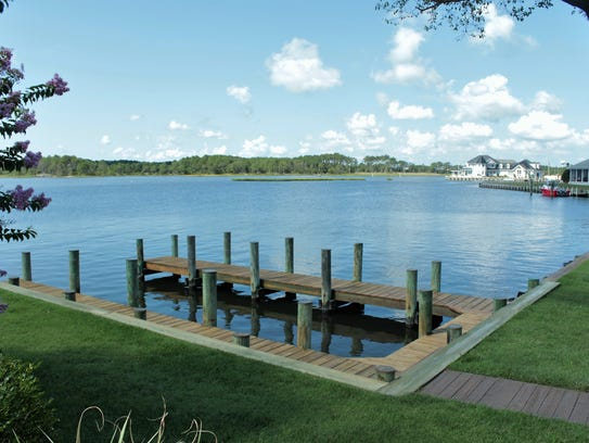 The Keen-Wik property comes with two boat docks, along