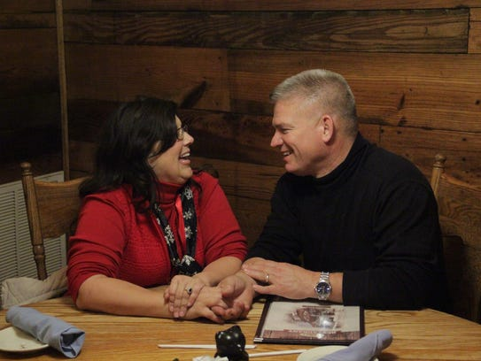 Kelly Jo and Gil Bates celebrate their 30th anniversary
