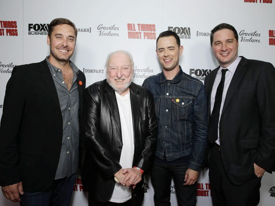Producer Sean M. Stuart, Tower Records Founder Russ