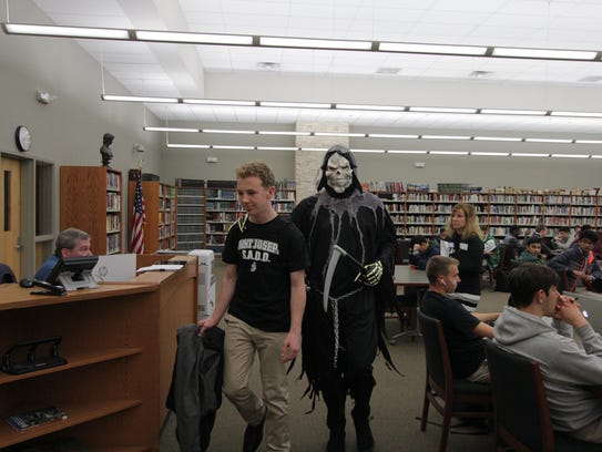 The grim reaper (Saint Joseph High School Assistant