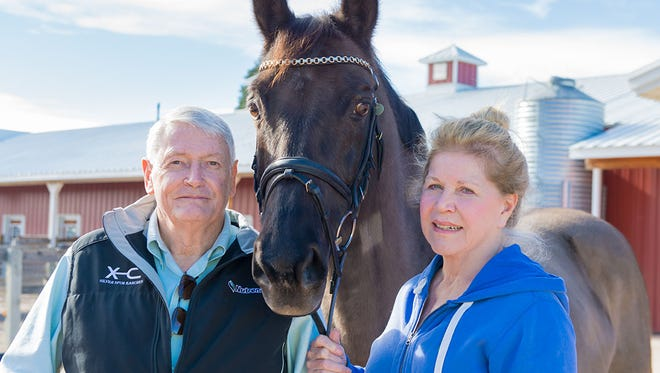 John and Leslie Malone are especially interested in new stem-cell therapies that could help horses and humans.