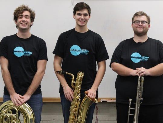Three Clermont Northeastern High School seniors performed