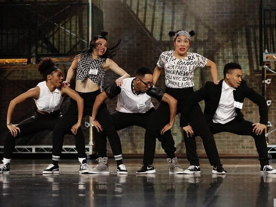 The first group, including Somerset resident Ariana Crowder (first on the left) received rave reviews from the judges. A hip hop artist Crowder, 22, is in the Top 20 of the popular dance reality show.