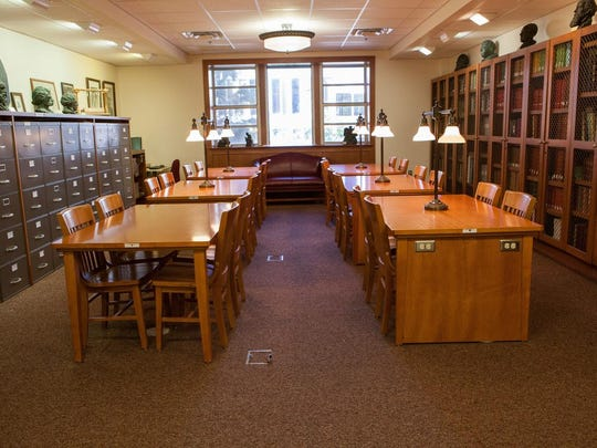 The main research room of the Special Collections Center at Florida State University.