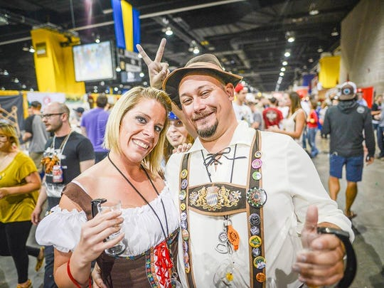 Three breweries represented Louisiana this year at the Great American Beer Festival– Abita, Bayou Teche and NOLA Brewing.