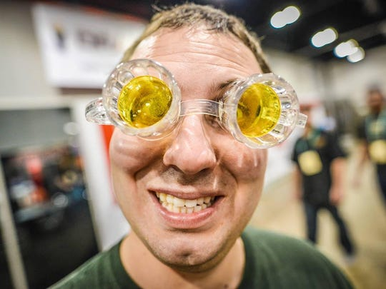 Over 3,500 different beers were poured at the Great American Beer Festival.