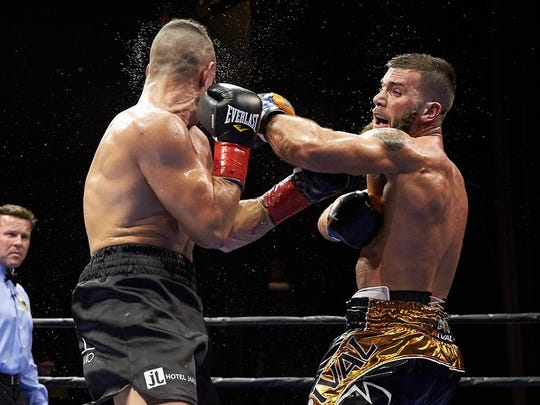 "Caleb Plant extended his record to 12-0 with a win over Adasat ""El Toro"" Rodriguez."
