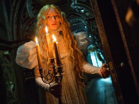 """Mia Wasikowska stars in """"Crimson Peak."""""""