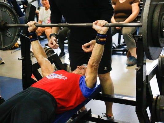 PL_Benching_Senior_Games_2015-3008