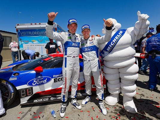 Ford GT First Win