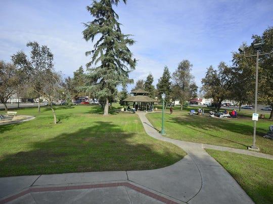 Lincoln Oval Park in Visalia.