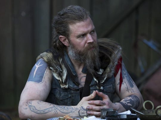"Ryan Hurst fills the screen with a convincing character in ""Outsiders"", a series about a powerful Appalachian mountain clan in a struggle with townspeople and Big Coal."