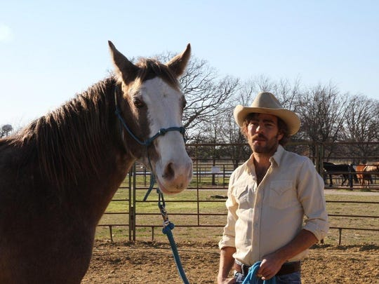 "Stephen Dorff portrays an aspiring country singer in the 2017 film ""Wheeler."""