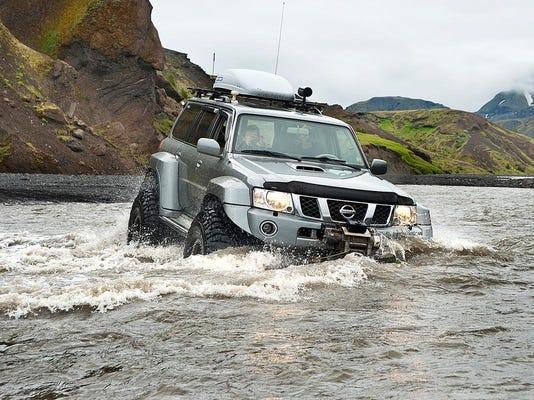 Thorsmork Markarfljot river crossing