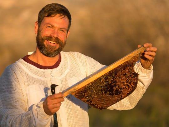 Miraval Beekeeper Noel Patterson