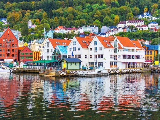 Bergen, home to Viking sagas, is a gorgeous stop on Viking cruises