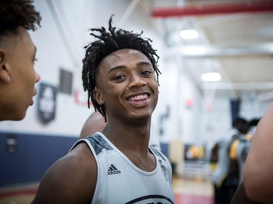 Highly-regarded Georgia point guard Ashton Hagans and his Newton High team will be in Memphis for a pair of games this weekend.