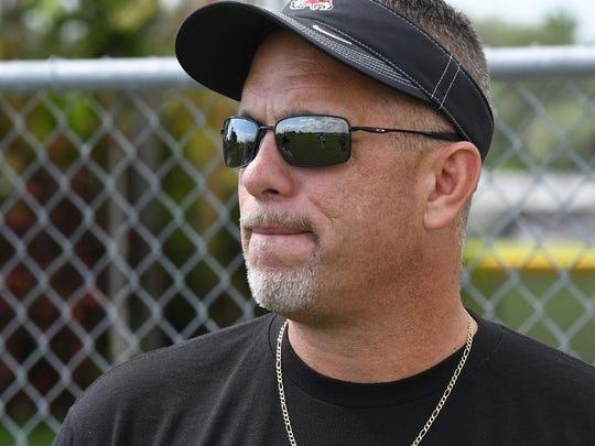 Former Stoneman Douglas football coach Willis May (Photo: @SunSentinel/Twitter screen shot)