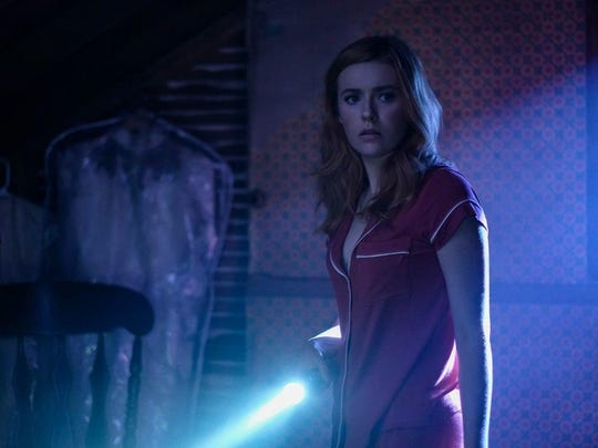 Kennedy McMann, of Holland, Mich., as Nancy Drew in CW's TV version of the young sleuth.