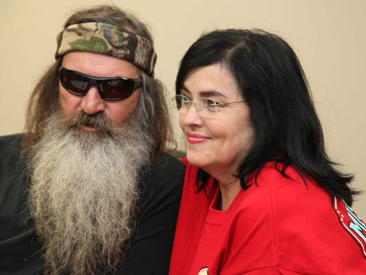 phil robertson speaks at ULM event 8/20