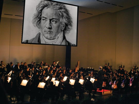 """The Des Moines Symphony will perform Beethoven's Fifth Symphony on Nov. 15 and 16 as part of a """"Behind the Score"""" program that will include video footage and narration about the work."""
