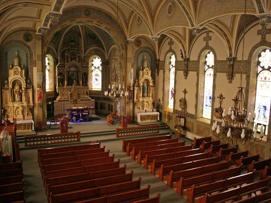 St. Mary's Catholic Church is in Marytown, a rural community that is not singled out in the U.S. Census.