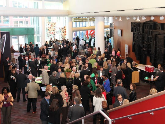 A previous kickoff reception at the Kentucky Center for the Performing Arts.
