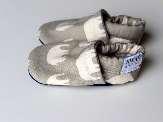 Swag Baby Booties offers flexible baby shoes that don't slip