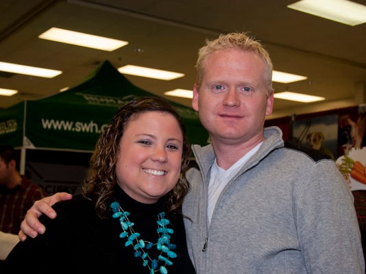 2012 pic of Allyson Tuckness and chris