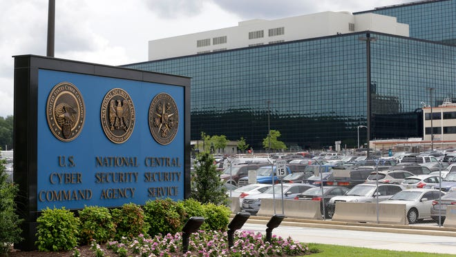 In this June 6, 2013 file photo, the National Security Agency (NSA) campus is seen in Fort Meade.