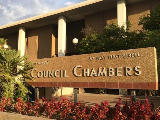 Mesa Council Chambers