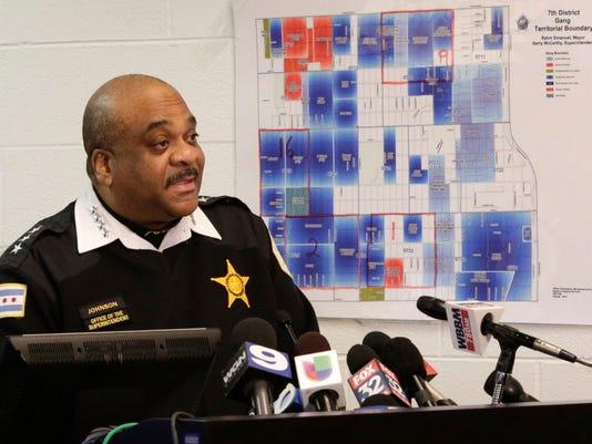 AP CHICAGO POLICE A USA IL