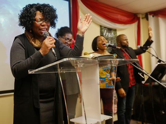 Tessy Odun-Ayo, pastor at the Redeemed Christian Church
