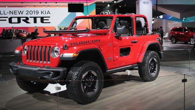 Changes to production in Toledo to make the new 2018 Jeep Wrangler and gear up for a new Jeep truck mean a supplier is issuing temporary layoff notices to its workers there.