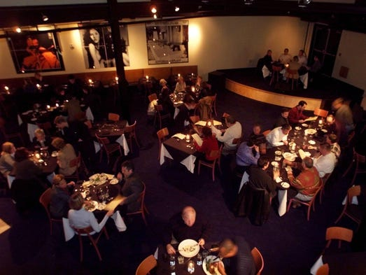 On weekends the new Six Degrees restaurant in the Gulch will feature live music. But during the week, the stage will seat a few more diners into the spacious restaurant (January 2011).