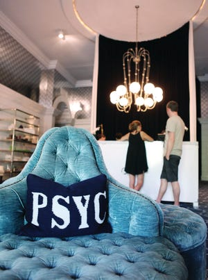 Palm Springs Yacht Club (PSYC) spa at the Parker Palm Springs