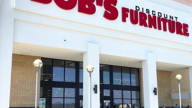 Bob's Discount Furniture is the newest tenant in The Strip shopping plaza in Jackson Township.