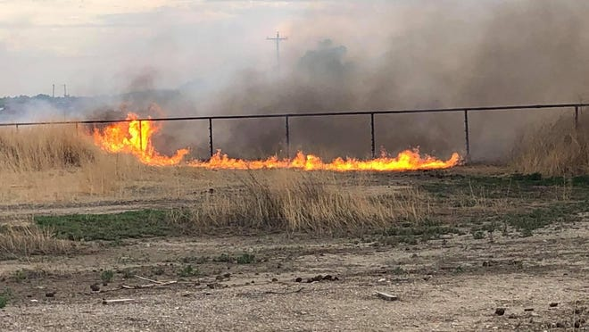 A fire on Friday at Highway 194 near Road 33. Otero County Sheriff's Office and  La Junta Fire Department responded, said the sheriff's office in a Facebook post.