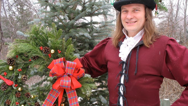 "Story teller Jonathan Kruk will spin Dickensian tales in Historic Hudson Valley's ""A Christmas Carol,"" staged at The Old Dutch Church in Sleepy Hollow."