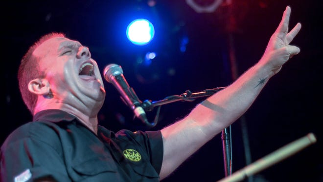 Fred LeBlanc and Cowboy Mouth return to Vinyl Music Hall on Friday.
