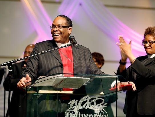 Bishop Bobby Hilton, pastor of Word of Deliverance,
