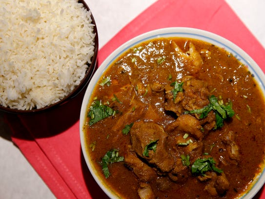 Chicken curry by Namaste Curry House at 6679 Dixie