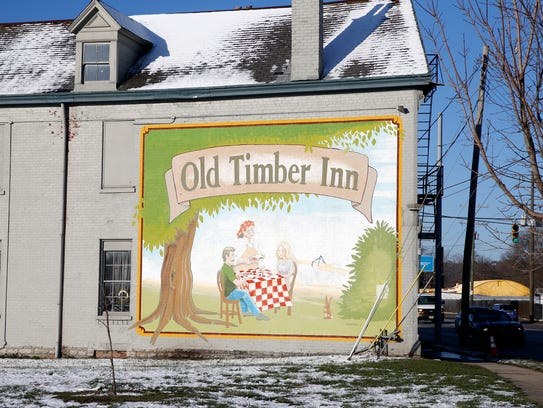 Fish logs are made at the Old Timber Inn on Spring