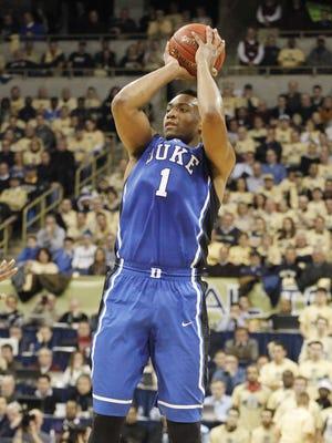 Jabari Parker scored a game-high 21 points for No. 16 Duke.