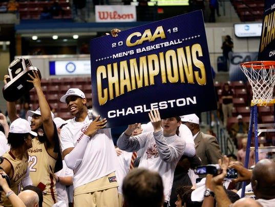 AP CAA NORTHEASTERN COLLEGE OF CHARLESTON BASKETBALL S BKC USA SC
