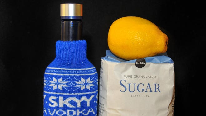 Lou Gerber's Sunday Supper: Limocello, lemon flavored liqueur made with vodka, lemons and sweet syrup.