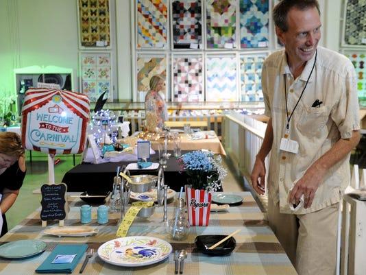 Ventura County Fair table setting contest