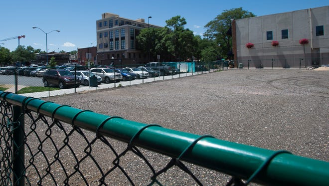 The Downtown Development Association is in the early stages of redevelopment for the lot at 140 E. Oak St. in Old Town.