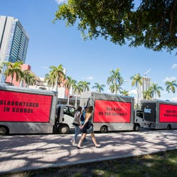 Three billboards in Florida target Rubio on guns